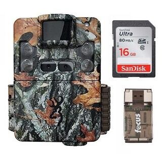 Browning Strike Force Pro XD Dual Lens Trail Camera with 16GB Card and Reader - Camouflage