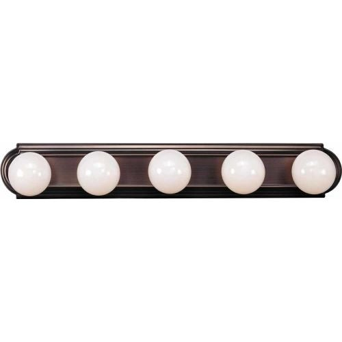 "Volume Lighting V1125 30"" Width 5 Light Bathroom Vanity Strip"
