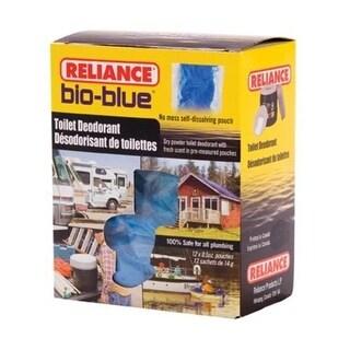 Reliance 3 Bio - Blue Toilet Deodorant, 12 Pouches
