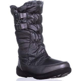 Sporto Makela Waterproof Winter Boots, Dark Pewter