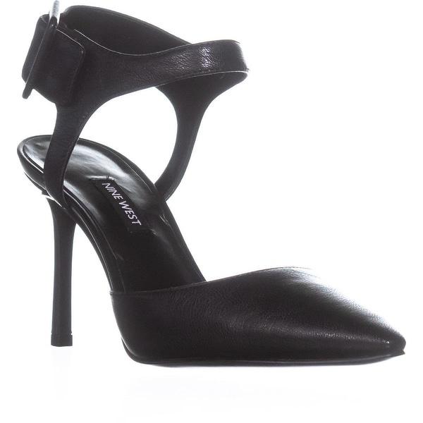 Nine West Elisabeti Heeled Sandals, Black