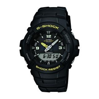 Casio Men's G-Shock Black Analog-Digital Watch