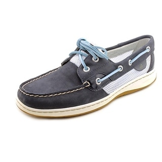 Sperry Top Sider Bluefish 2-Eye Moc Toe Leather Boat Shoe
