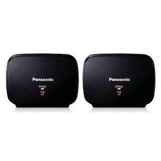 Panasonic KX-TGA405B 2-Pack Cordless Handset Range Extender New