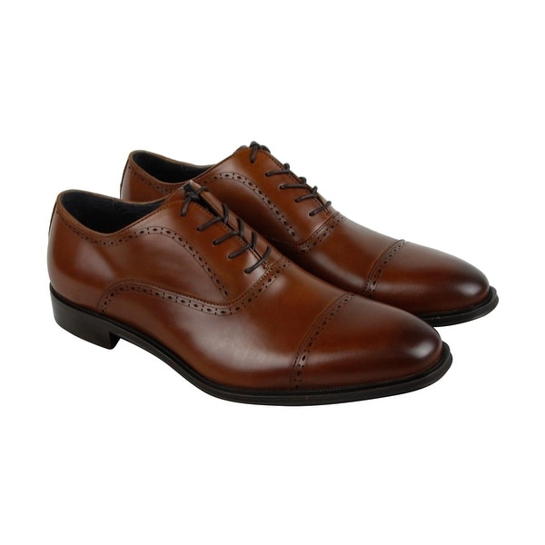 Kenneth Cole New York Design 10221 Mens Brown Casual Dress Oxfords Shoes