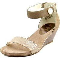 Anne Klein Sport Calbert Women  Open Toe Leather  Wedge Sandal