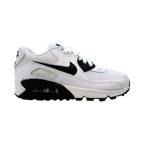 Shop Nike Air Max 90 Essential White Black 616730 110 Women S