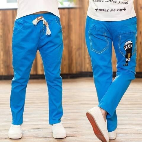 Boy Fall New Male Robot Leisure Trousers Boy Casual Pants