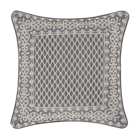 Five Queens Court Houston 18 Inch Square Decorative Throw Pillow
