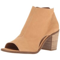 896d08faa773 Shop Lucky Brand Womens barimo Leather Peep Toe Ankle Fashion Boots ...