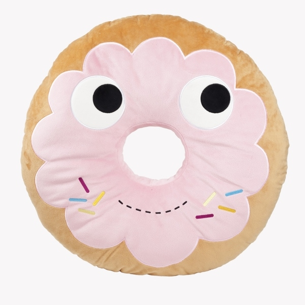 "Yummy World 10"" Designer Plush: Yummy Pink Donut - multi"