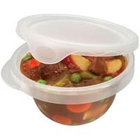 Rubbermaid 7F67RETCHL Take Alongs Round Containers pack of 12
