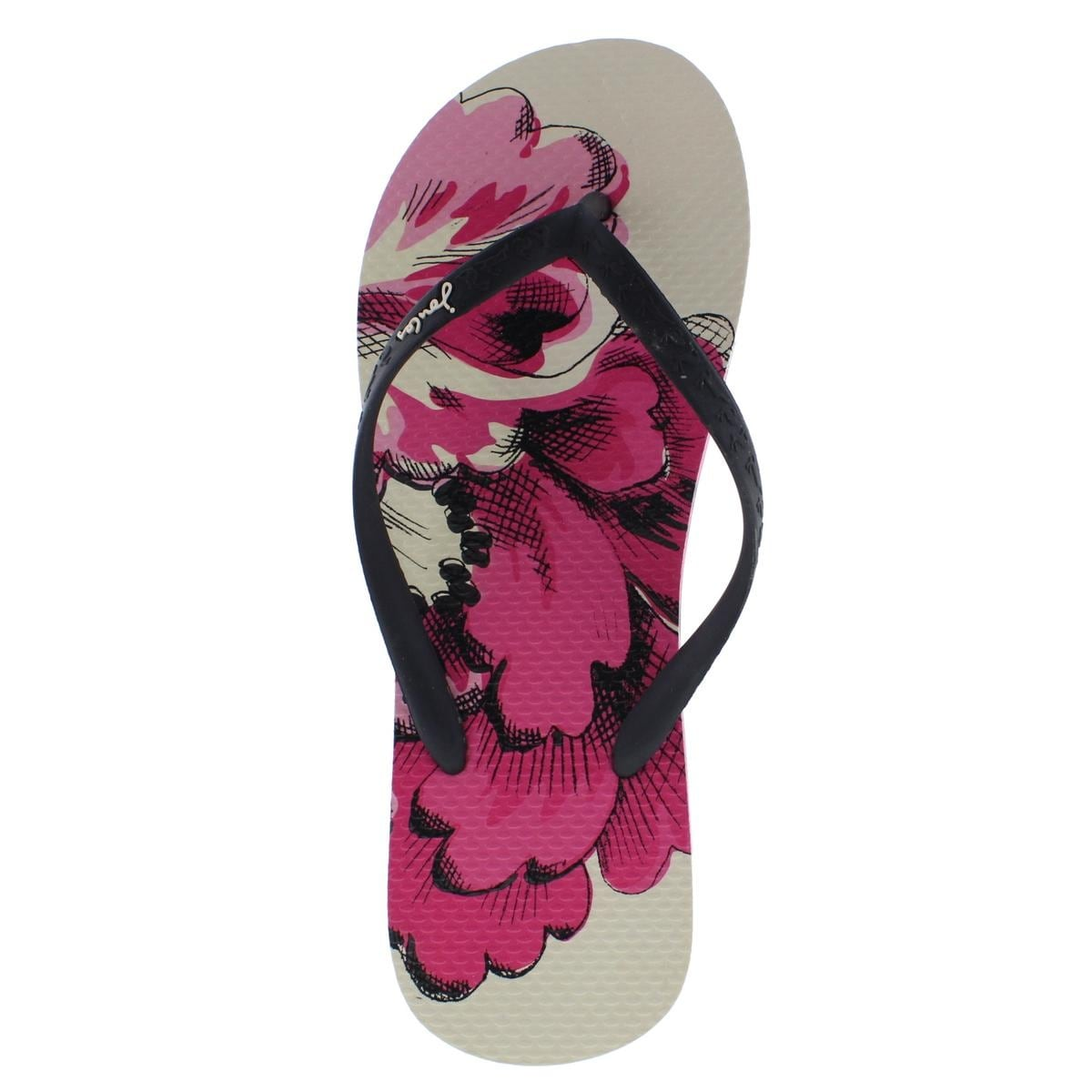 attractive & durable buy sale classic Joules Womens Sandy Flip-Flops Thong Textured
