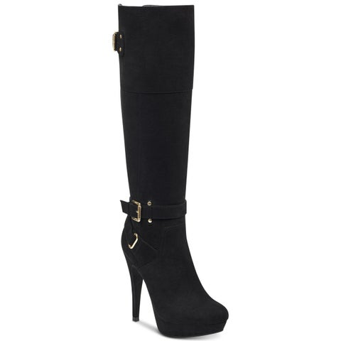 G by Guess Womens Decco Closed Toe Knee High Fashion Boots