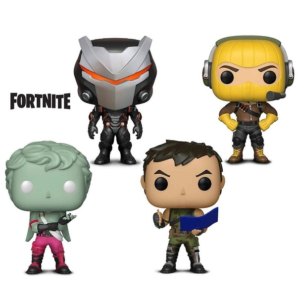 funko pop games fortnite s1 omega raptor love ranger and highrise assault trooper - assault trooper fortnite combos