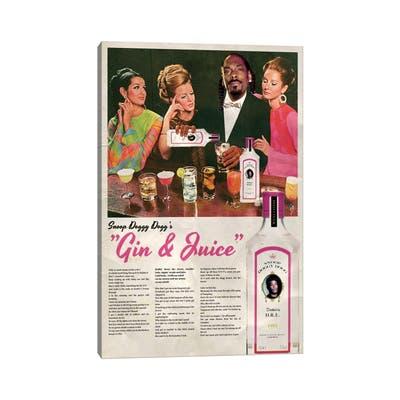 "iCanvas ""Gin & Juice"" by David Redon Canvas Print"