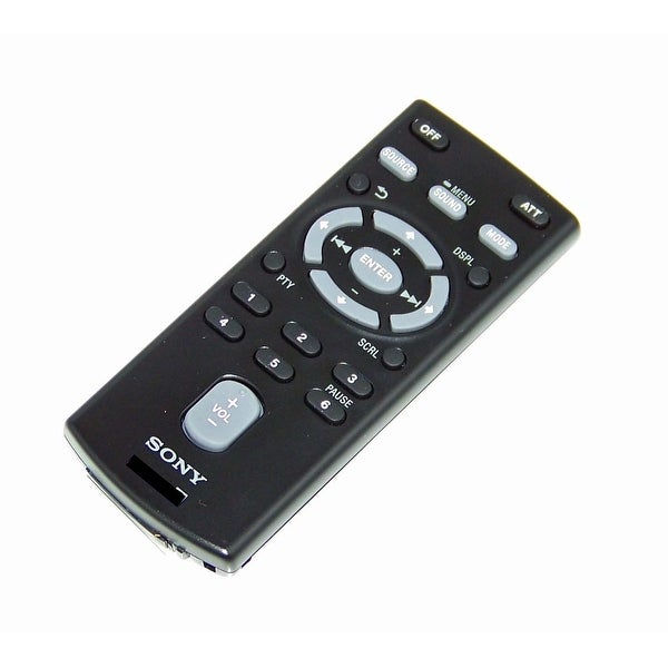 OEM Sony Remote Control Originall Shipped With: CXS3116F, CXS-3116F, CDXGT260MP, CDX-GT260MP, CXS31FQ, CX-S31FQ