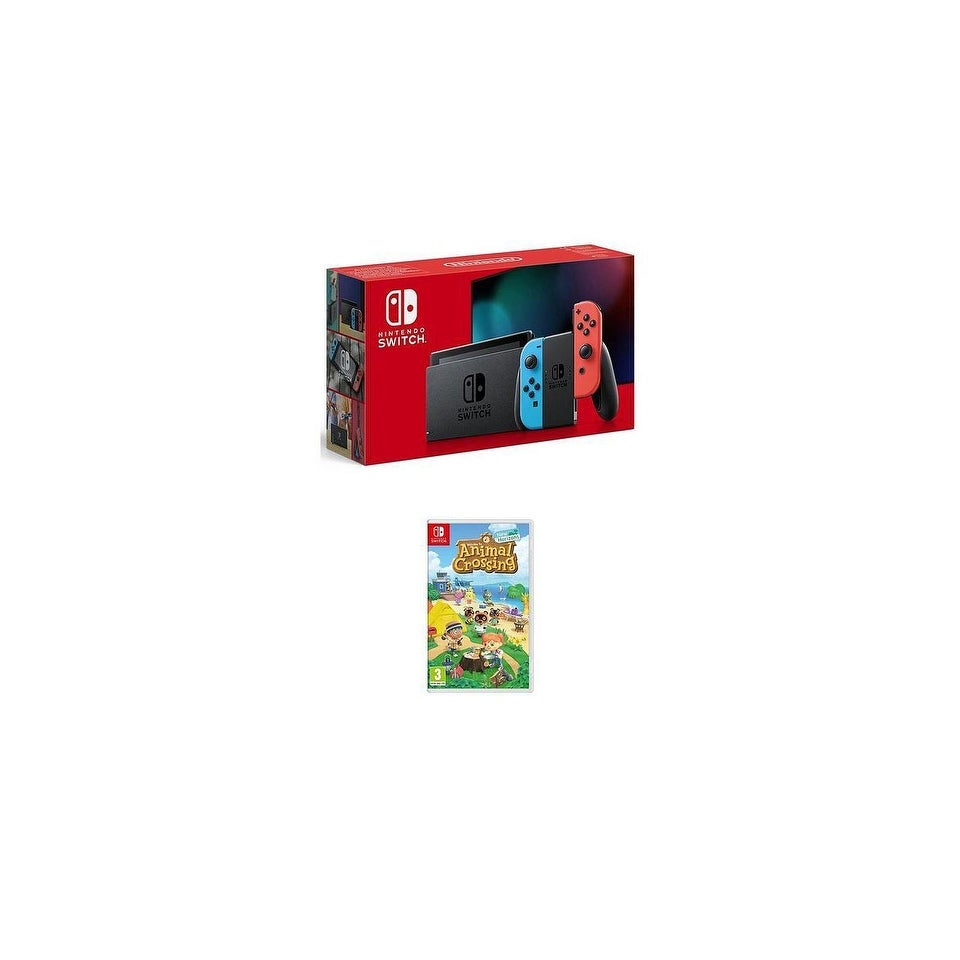 Shop 2019 New Nintendo Switch Red Blue Joy Con Improved Battery