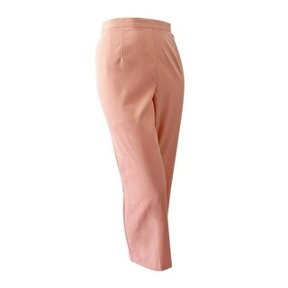 Alfred Dunner Women's Plus Size Pull-On Pants - peach - 22W