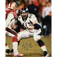 Gary Zimmerman Autographed Denver Broncos 16x20 Photo