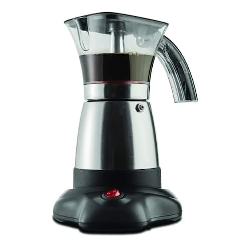 Brentwood Moka Espresso Maker - Stainless Steel