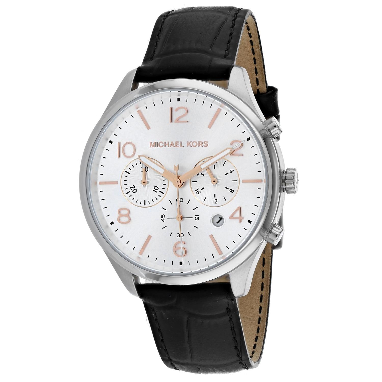 Michael Kors Mens Merrick Silver Dial Watch
