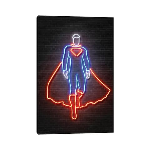 "iCanvas ""Superman"" by Octavian Mielu Canvas Print"