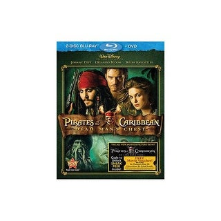 PIRATES OF THE CARIBBEAN DEAD MANS CHEST (BR/DVD/2 DISC COMBO)