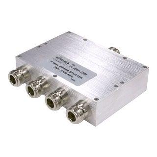 Wireless Solutions - 698-2700 MHz 4-Way Splitterw/ N Females