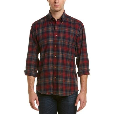 Bills Khakis Niantic Plaid Shirt