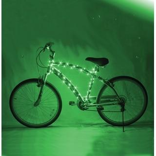 Cosmic Brightz LED Bicycle Light Accessory: Green - multi