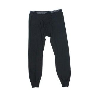 Champion NEW Black Mens Size Large L Legging Stretch Closed Bottom Pants