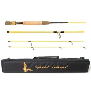 "Eagle Claw 7'6"" Trailmaster Travel Spin/Fly Fishing Rod"