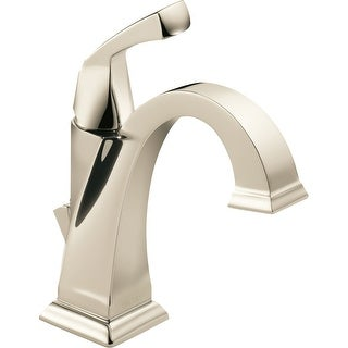 Delta 551-DST  Dryden Single Hole Bathroom Faucet with Diamond Seal Technology