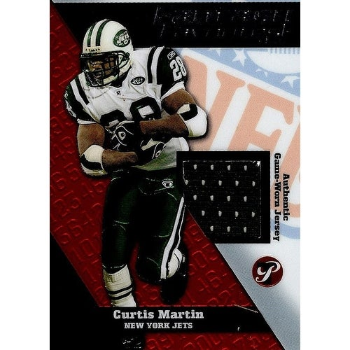 pretty nice c6063 4ab03 Signed Martin Curtis New York Jets Curtis Martin 2004 Topps Pristine  Fantasy Favorites Unsigned Foo