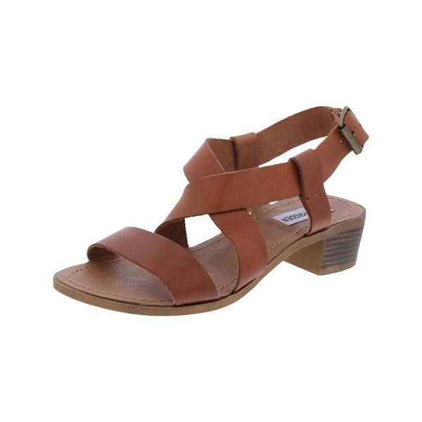 Steve Madden Womens Strappy Sandals Strappy Block Heel