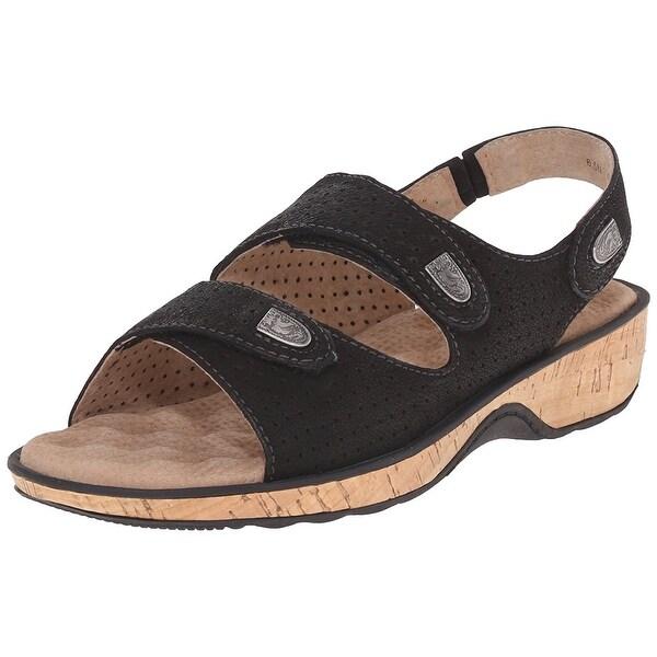 Softwalk NEW Black Women's Shoes Size 7N Bolivia Slingback Sandal