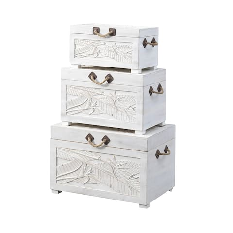 Set of Three Nesting Trunks