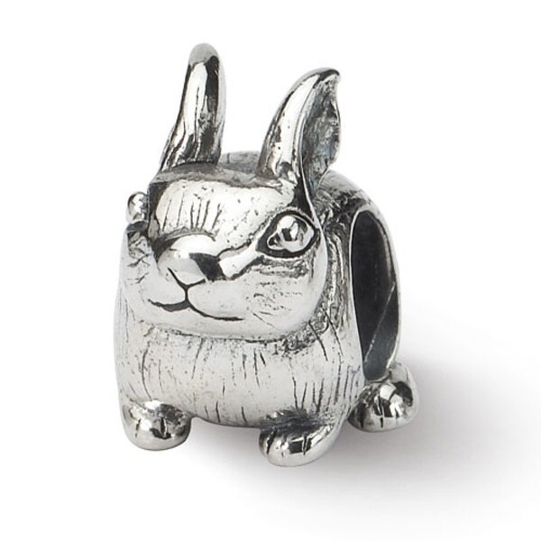 Sterling Silver Reflections Bunny Bead (4mm Diameter Hole)