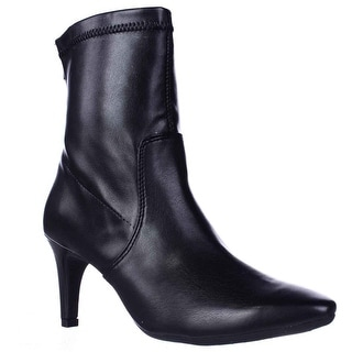 Aerosoles Excess Pointed Toe Dress High Ankle Boots, Black