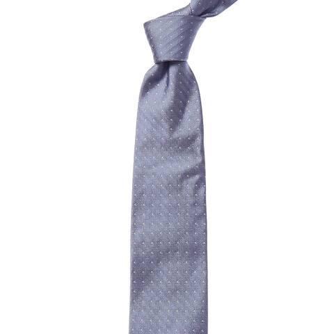 Bonobos Airy Blue Herringbone Dot Silk Tie - os