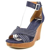 Style & Co. Womens Raynaa Open Toe Casual Platform Sandals