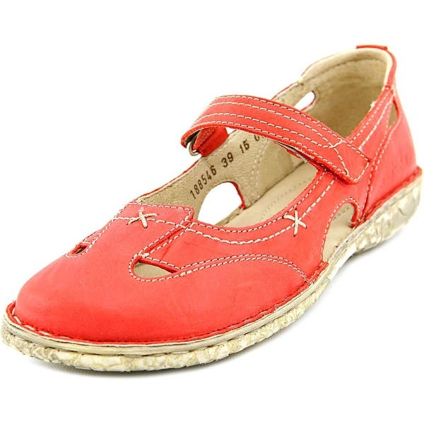 921c409e929f8 Josef Seibel Ingrid Women Round Toe Leather Red Mary Janes. Image Gallery