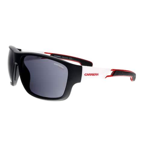 205d881fc4267 Carrera 4006 S 04NL IR Mat Black White Square Sunglasses - 63-17-