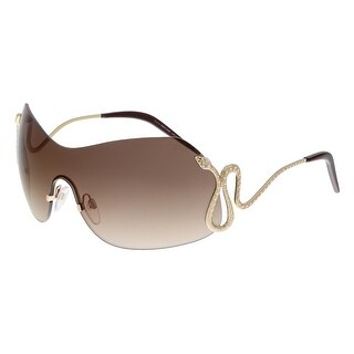 Roberto Cavalli RC896S HASSALEH 28G Gold Shield Sunglasses