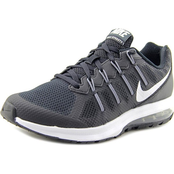 Nike Air Max Dynasty MSL Women Round Toe Canvas Black Running Shoe