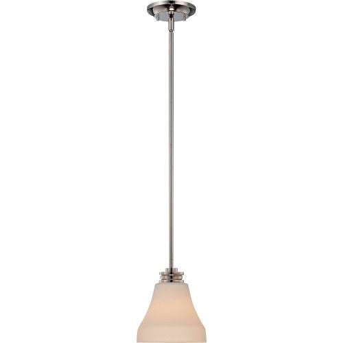 """Nuvo Lighting 62/422 Single Light 7"""" Wide LED Mini Pendant"""