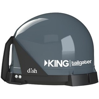 Refurbished KING Tailgater Portable HD Satellite TV Antenna Portable Satellite Antenna