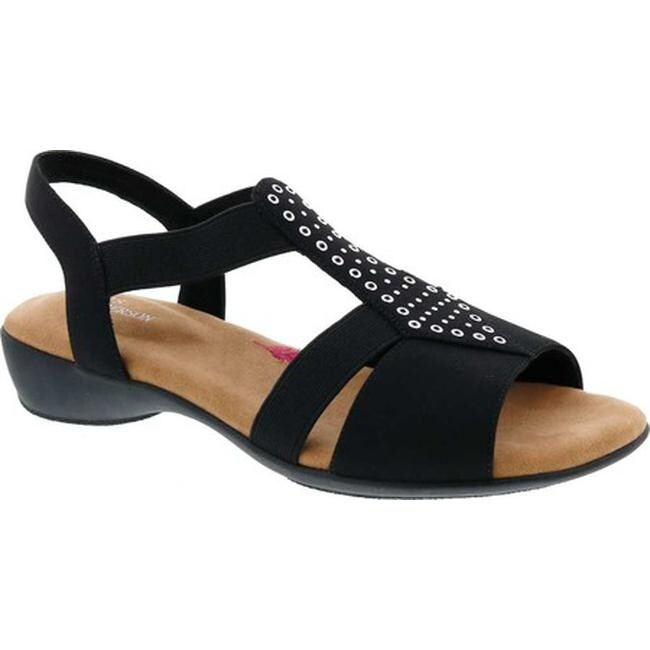 Ros Hommerson Designer Sz 11.5ww Nude Black White Heel Sandals Stunning Beauty Heels