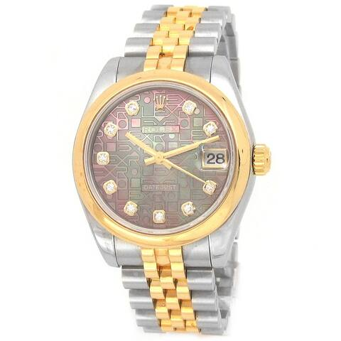 Pre-owned 31mm Rolex Two-tone Datejust Watch